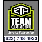 Team Clean and Haul - Paradise Valley Arizona Dumpsters for Rent